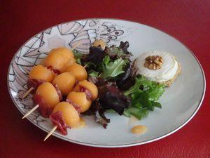 Crème de melon du Quercy au Rocamadour