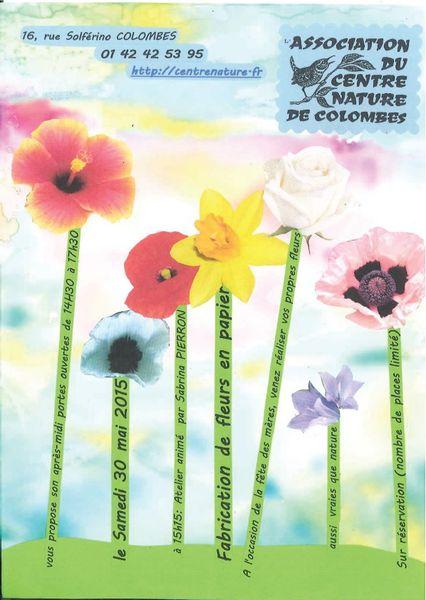 Fabrication de fleurs en papier