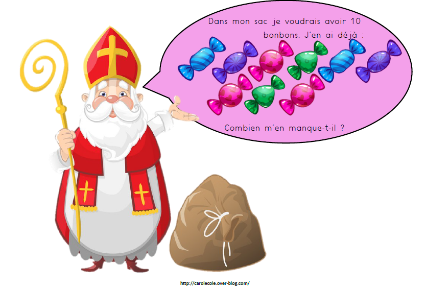 Situations-problèmes avec Saint-Nicolas
