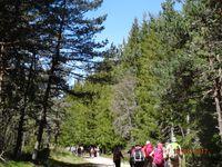 Chanaleilles ; randonnées 1er jour