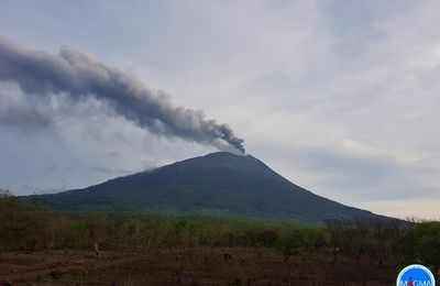 Lewotolok, Merapi and Pacaya activity.