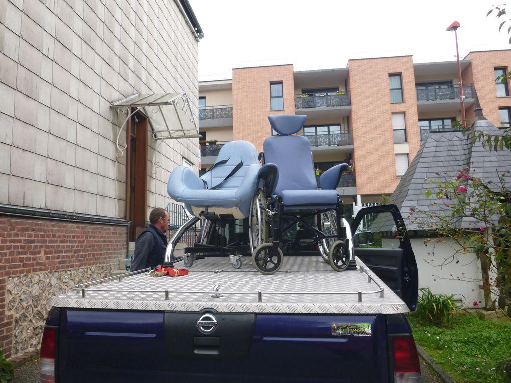 10 octobre 2017 - Collecte de fauteuils roulants pour les plus fragiles