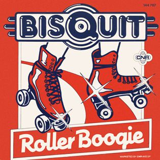 BISQUIT - ROLLER BOOGIE - SINGLE VINILO - 1980