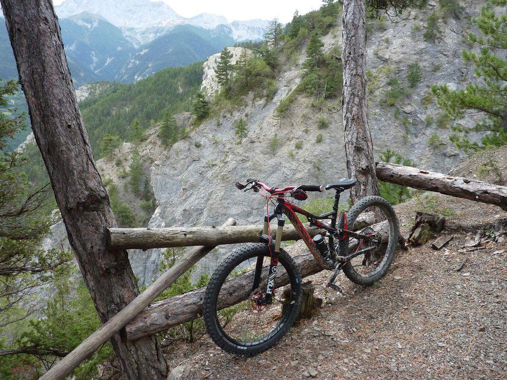 Week-end VTT à Barcelonnette (04) - Vallée de l'Ubaye- le 25 et 26 Aout 2018