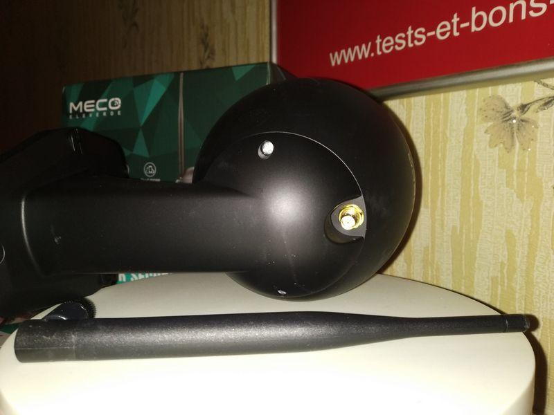 découverte de la caméra de vidéosurveillance Full HD - MECO Eleverde PTZ Outdoor @ Tests et Bons Plans