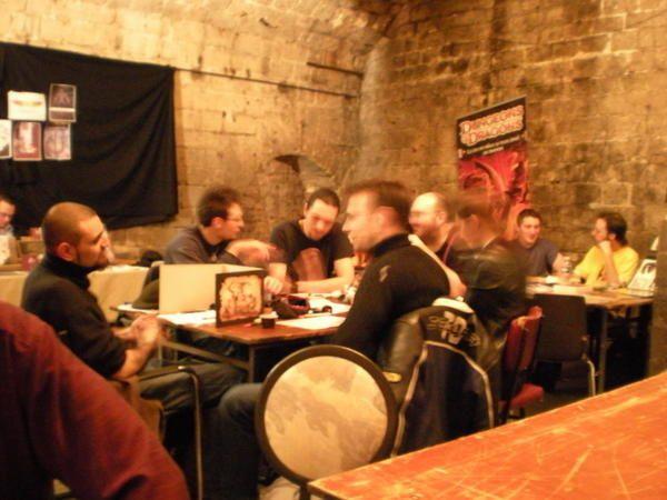 la session 2008, du samedi 08 au mardi 11 novembre : quatre jours de jeux non-stop !