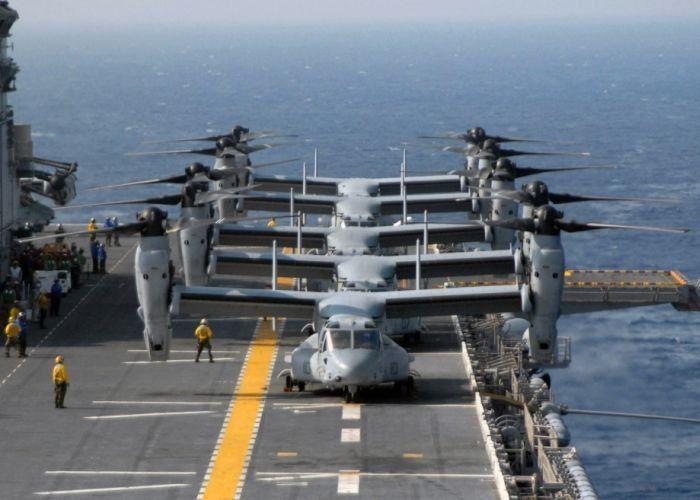 Imágenes de los marines USA.- El Muni.
