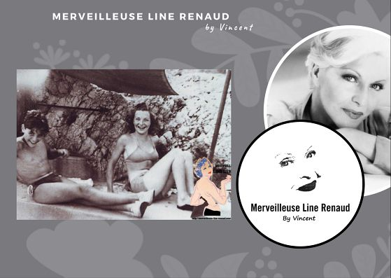 PHOTOS: Line Renaud et Sacha Distel le neveu de Ray Ventura 1945