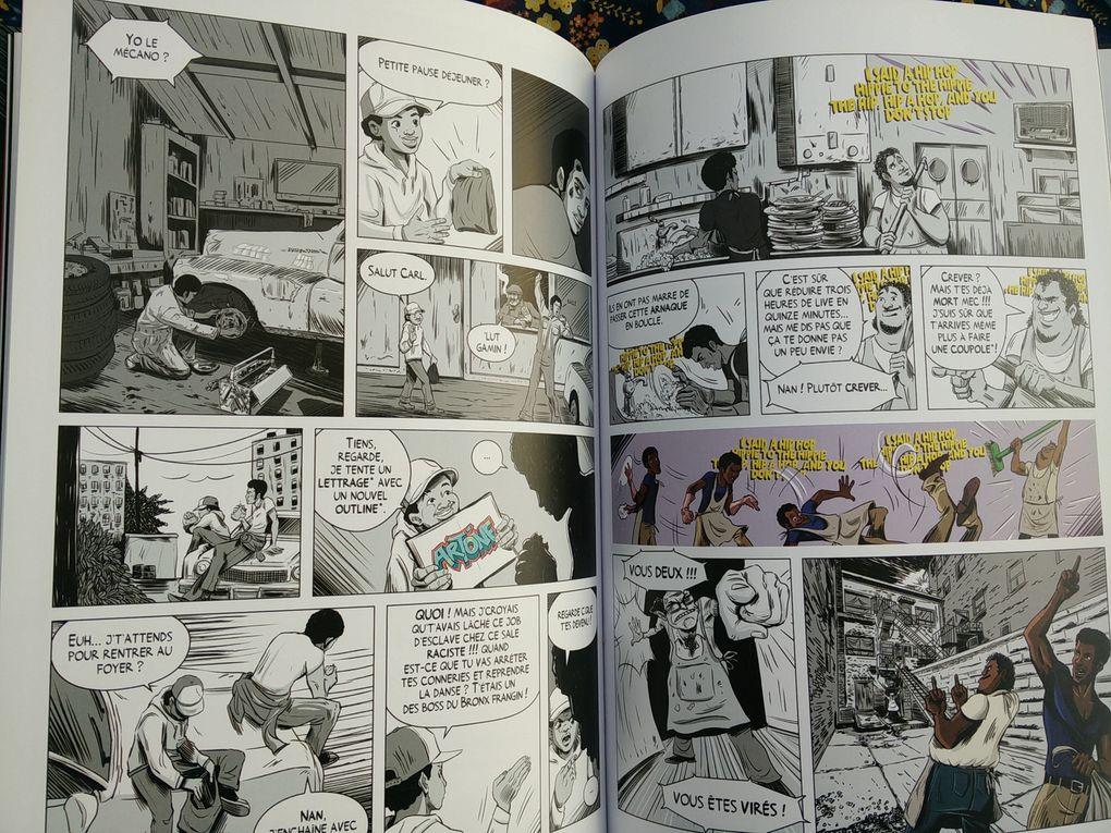 Break - Volume 1 - Une histoire du hip-hop. LIANO et LEDOUX – 2019 (BD)