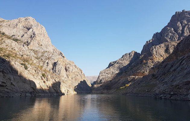 Karanlık kanyon à Kemaliye, deuxième plus grand canyon de Turquie