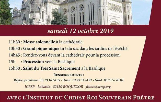 Lisieux... et ménage de la Chapelle samedi !