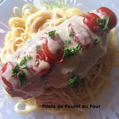 Filets de Poulet au Four
