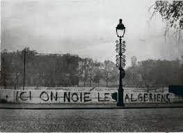 Commémoration des 60 ans du massacre des Algériens le 17 octobre 1961 à Paris