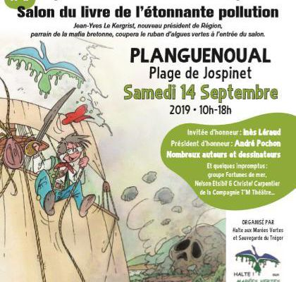 Salon du livre de l'étonnante pollution