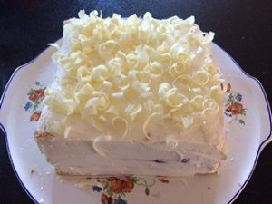 Framboisier chantilly au mascarpone