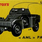 AUTO MITRAILLEUSE LEGERE PANHARD 60 DINKY TOYS 1/43 - car-collector.net