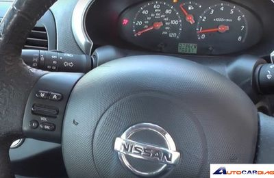 How to use Autel MD802 turn off Nissan Micra airbag light?