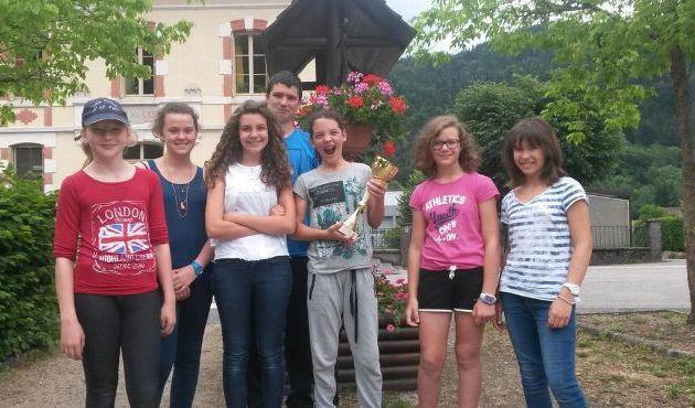Le collège Anna de Noailles est arrivé 6e au niveau national
