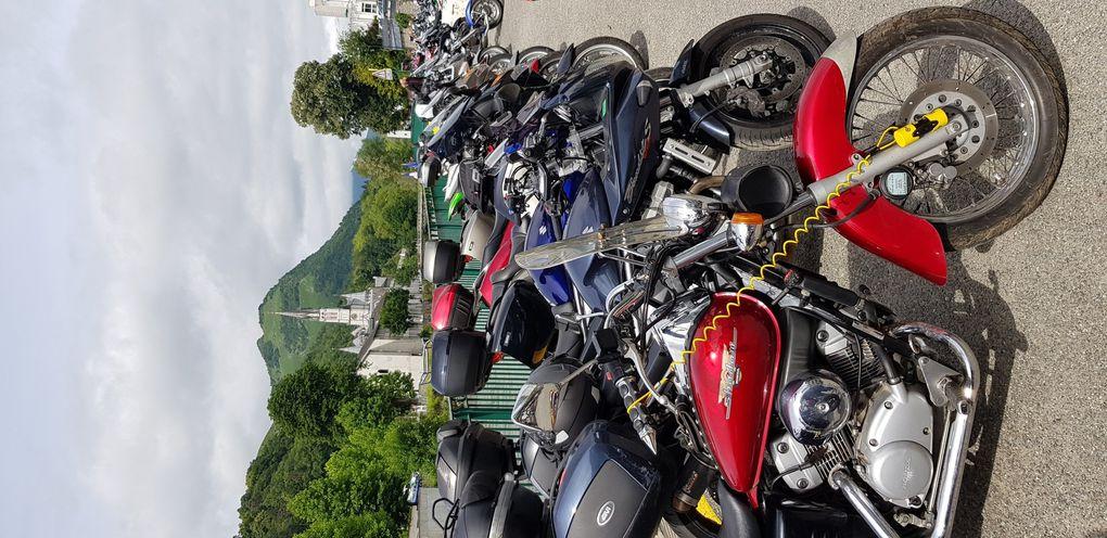 Pèlerinage des motards à Lourdes