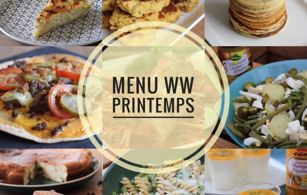 MENU WW LIBERTE PRINTEMPS
