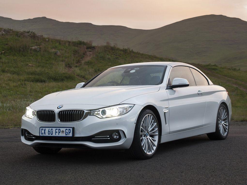 """VOITURES DE LEGENDE (491) : BMW  SERIE 4  428i CABRIOLET """"LUXURY LINE"""" - 2014"""