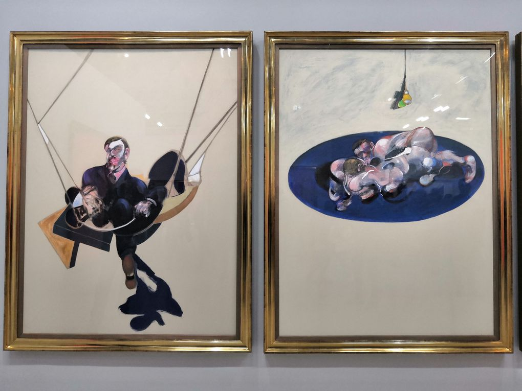 Triptyque, 1970, Huile sur toile, National Gallery of Australia, Canberra