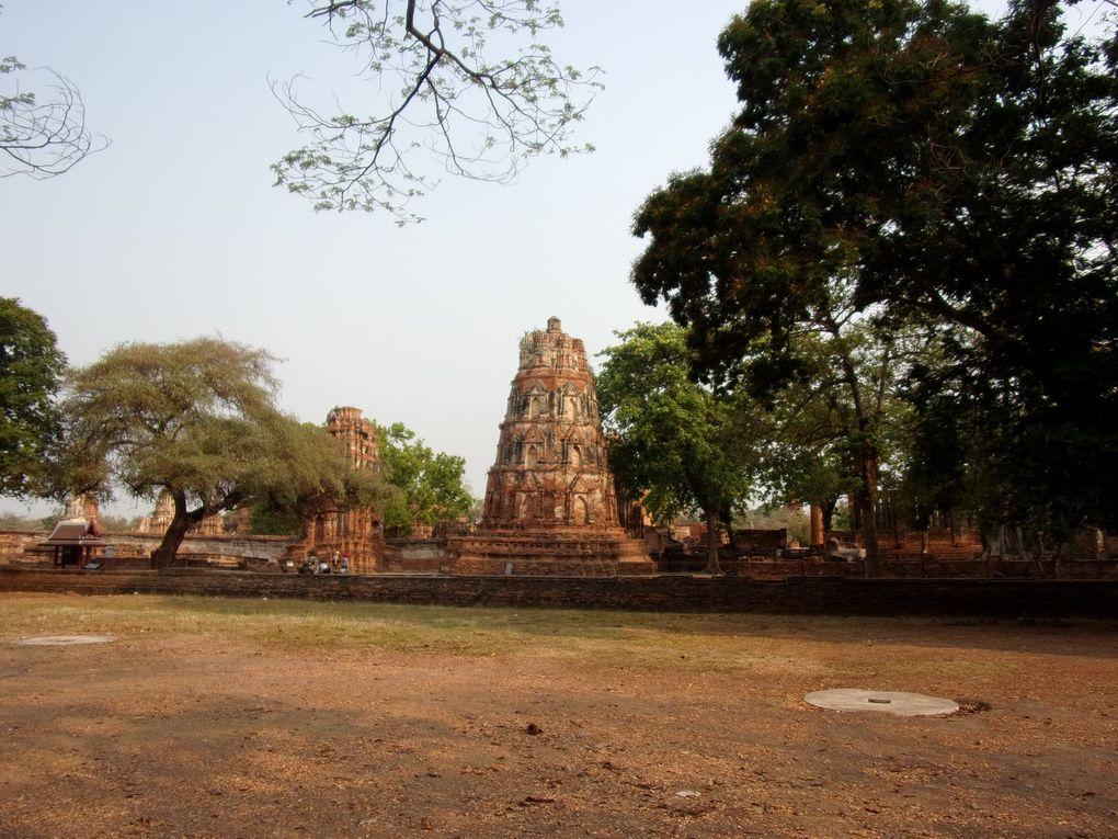 Voyage en Thaïlande : Ayutthaya, Lopburi, Phitsanulok.