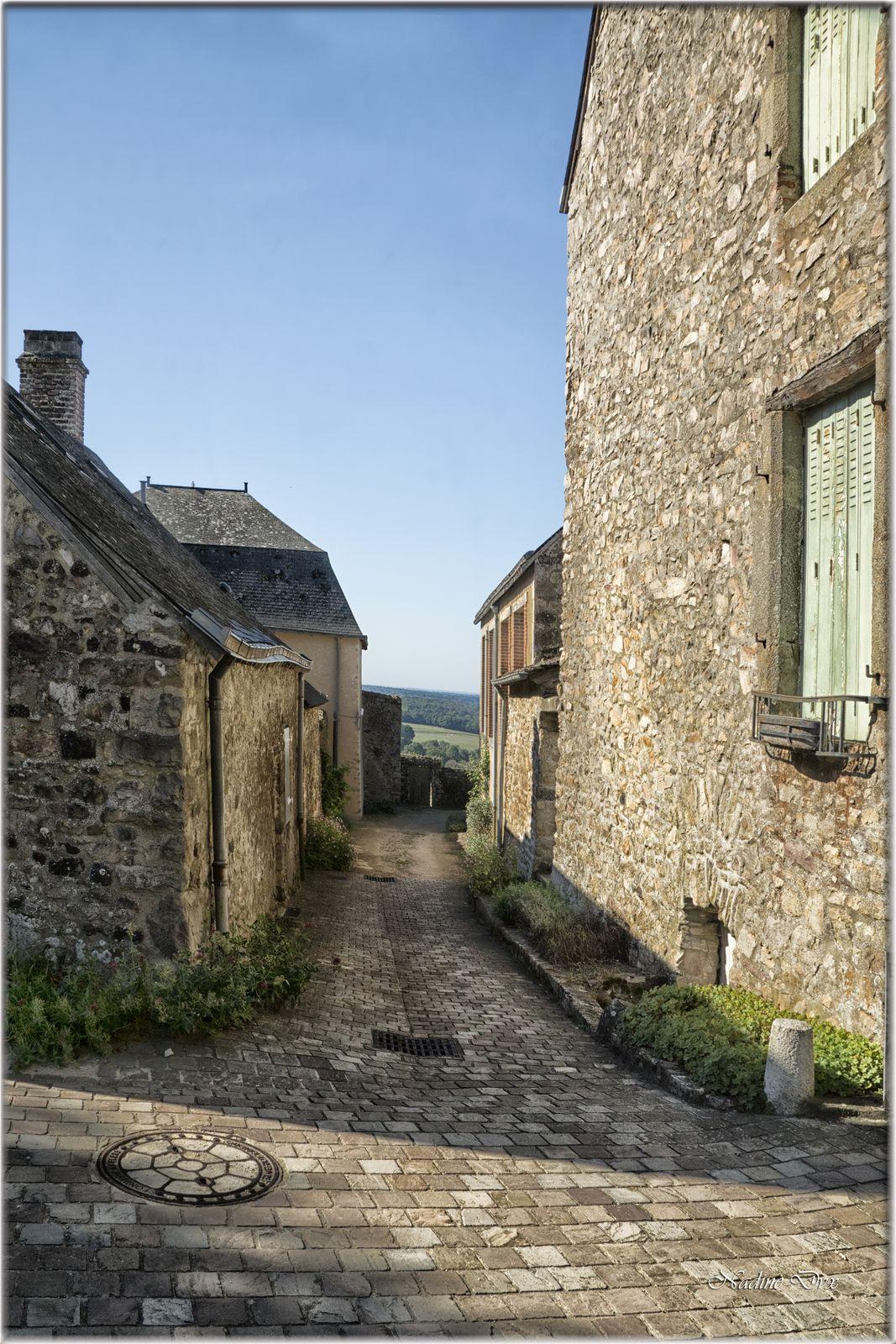 53 - Cité médiévale de Sainte-Suzanne - Mayenne