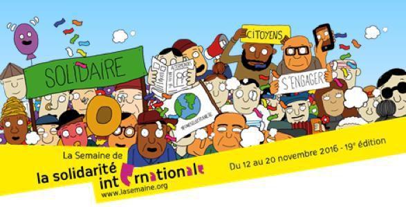 """Spectacle """"T'es qui toi?"""" vendredi 18 novembre dans le cadre de la semaine de la solidarité internationale"""