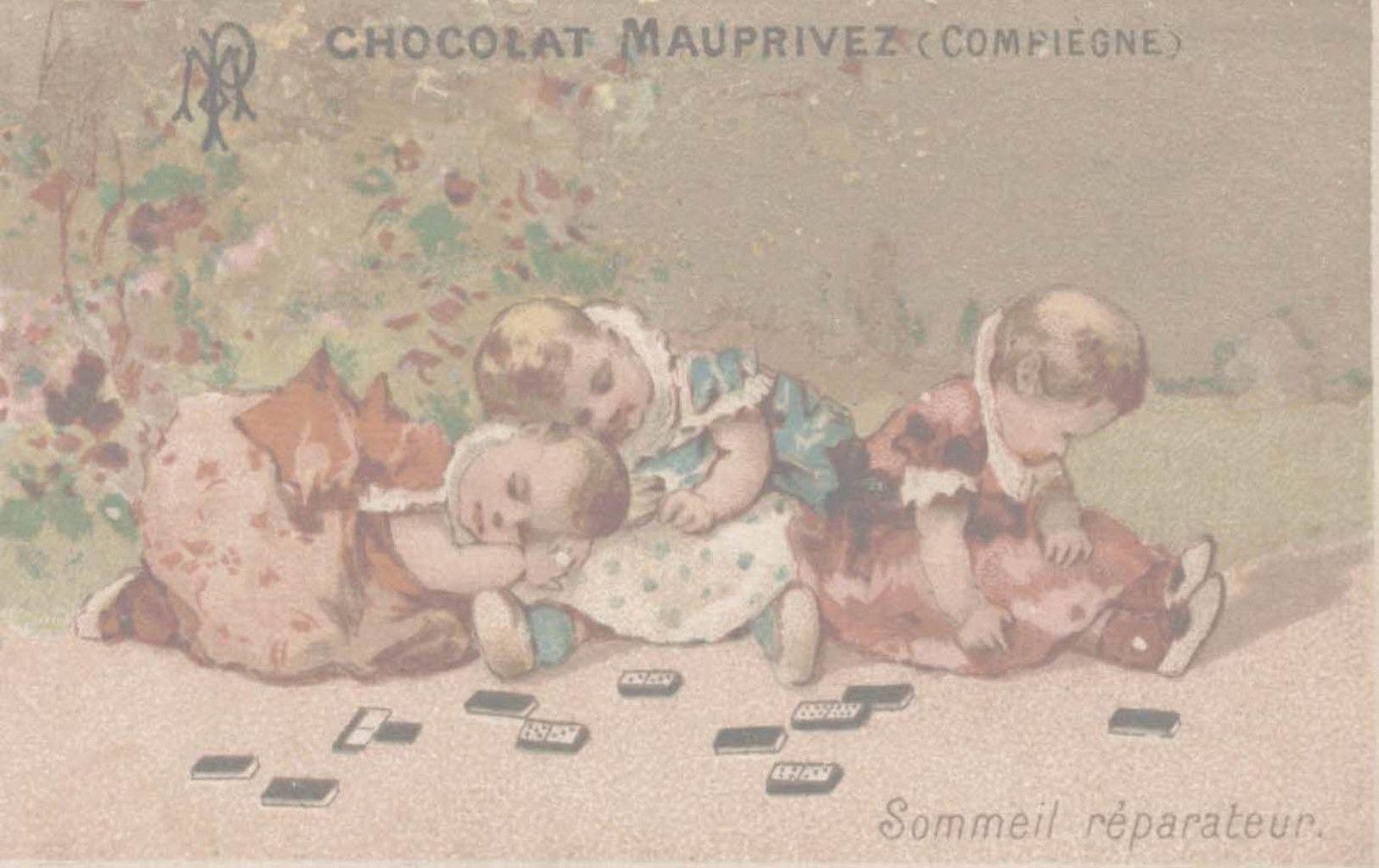 Album - la ville de Compiegne ( oise ), les commercants, Mauprivez