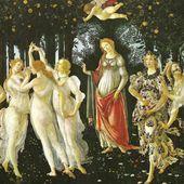 Botticelli - Le Printemps ( Primavera ) - LANKAART