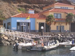 Madère :marina de Quinta do Lorde