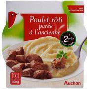 RAPPEL/Poulet rôti purée à l'ancienne Auchan