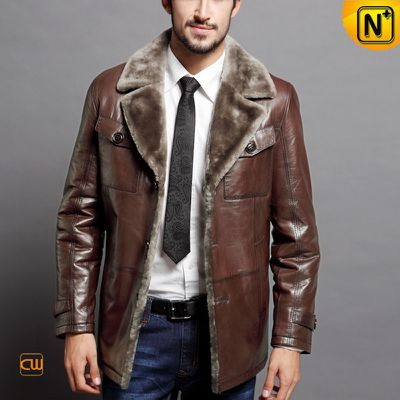 Coziest Fit Shearling Coats for Men