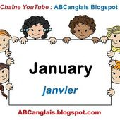 Cours d'anglais 8 - Les mois de l'année en anglais January February March April May June July August