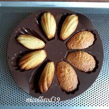 Mousse chocolat et madeleines...