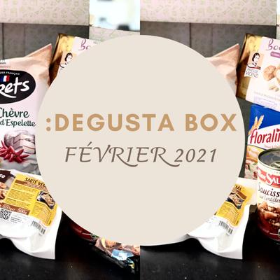 What's in the :DEGUSTA Box : Février 2021 - Cuisiner en famille