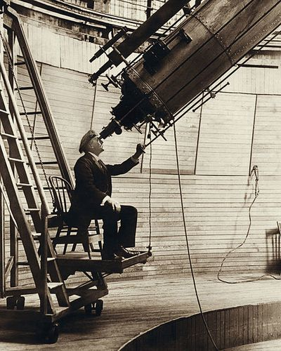 Lowell, il telescopio e internet