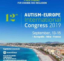 12ème Congrès International d'Autisme-Europe - 13-15 septembre 2019