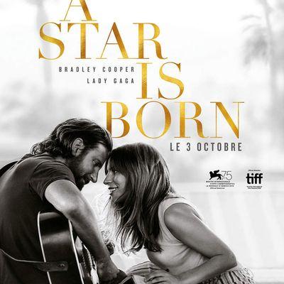 A star is born, 2h15, de et avec Bradley Cooper, avec Lady Gaga ****