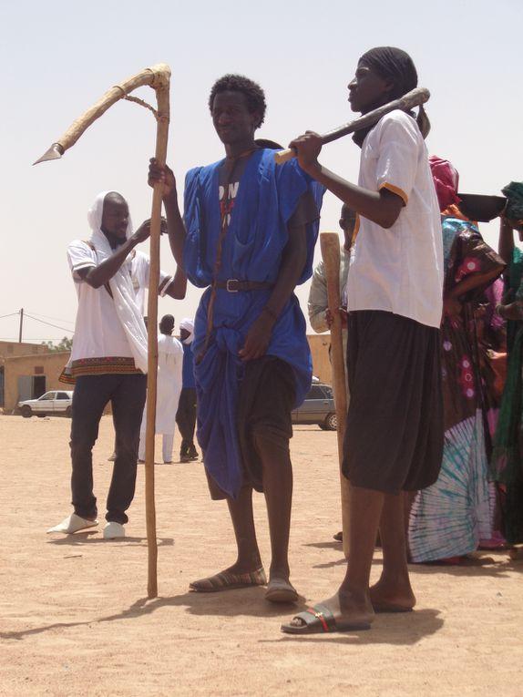 Journées culturelles dans le village de Thialgou, près de la ville de Boghé, dans la Région (Wilaya) du Brakna (août 2017).