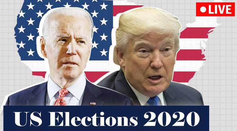 Candidates running for the 2020 US presidential election on November 3rd