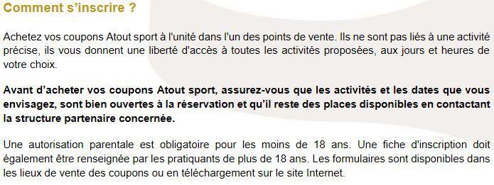 Le programme Atout Sport été 2021 Quimper/QBO
