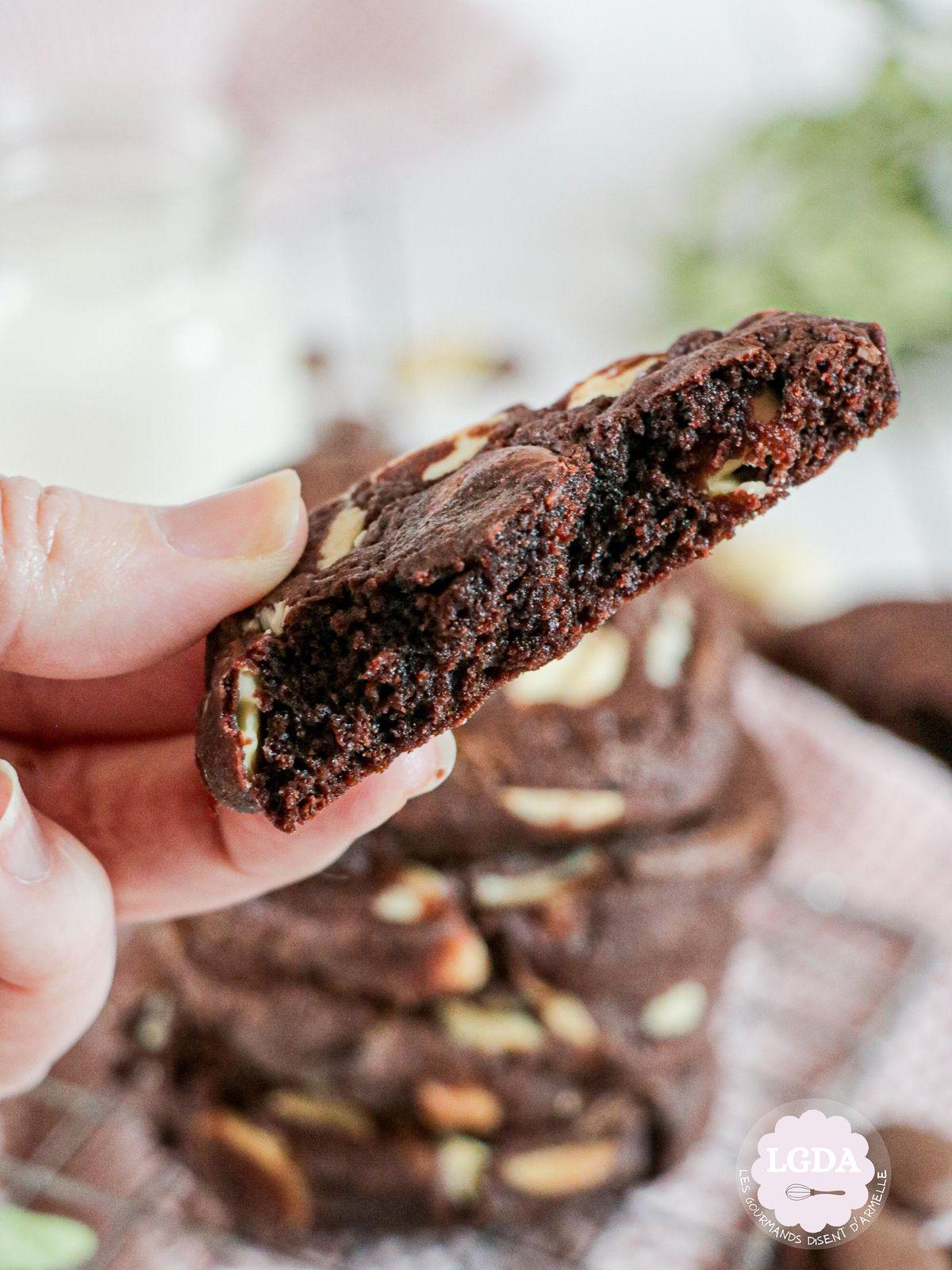 Cookies tout chocolat @ Les Gourmands {disent} d'Armelle