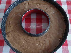 Gâteau mousse au chocolat et yaourt Grec