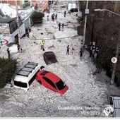 De 31°C à deux mètres de glace en 24h : la météo apocalyptique de cette ville mexicaine -- Sott.net