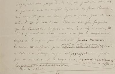 """J.-H. Rosny """"La Résurrection [2]"""" (Manuscrit - s.d.)"""