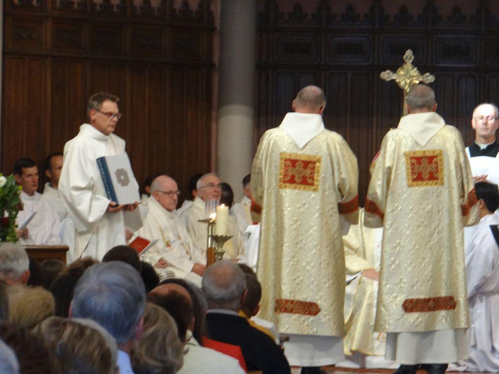 Ordination diaconale de Jean-Marc Goua et de Roland - 8 septembre 2019