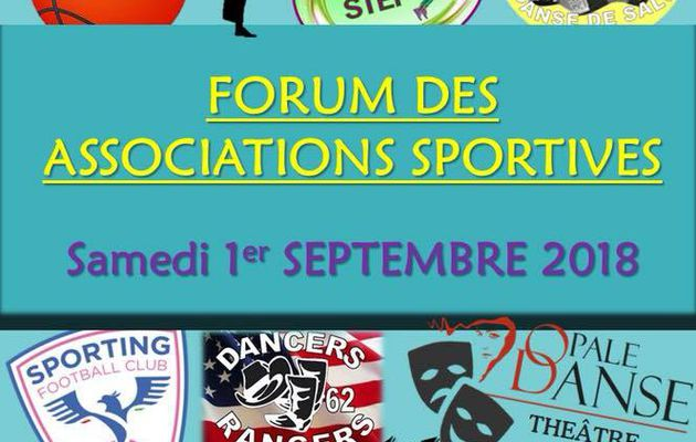 LE FORUM DES ASSOCIATIONS SPORTIVES DE GROFFLIERS...CE 1er SEPTEMBRE...