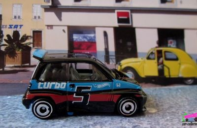 85 HONDA CITY TURBO II HOT WHEELS 1/64.